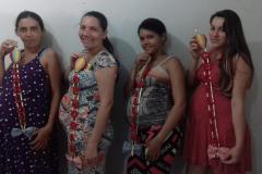 Cras realiza oficinas com os grupos de mulheres e de gestantes