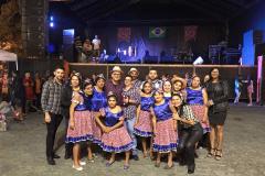 Prefeitura de Umbuzeiro realiza São Pedro em praça pública