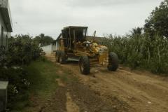 Hoje foi o dia de melhoramentos nas estradas da comunidade de Matinadas.