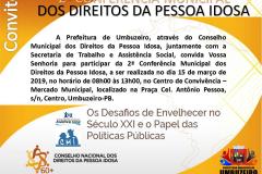 2ª Conferência Municipal dos Direitos da Pessoa Idosa