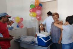 Secretaria de saúde de Umbuzeiro realiza 'Dia D' de vacinação contra gripe